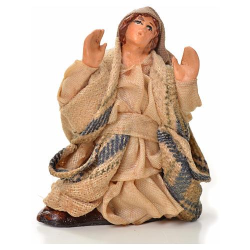 Neapolitan Nativity figurine, astonished man, 6 cm 1