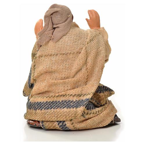 Neapolitan Nativity figurine, astonished man, 6 cm 2
