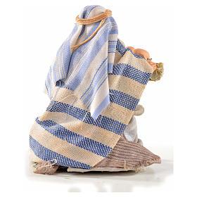 Homme arabe aux oeufs crèche Napolitaine 6 cm s2