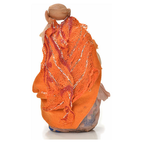 Donna con brocca 6 cm presepe napoletano 2