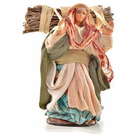 Boscaiola 6 cm presepe Napoli stile arabo s1