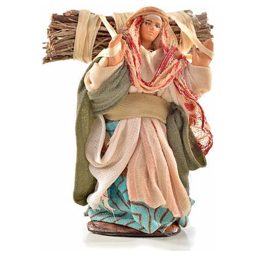 Boscaiola 6 cm presepe Napoli stile arabo 1
