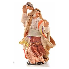 Mujer con ropa en la cabeza 6 cm. belén Napolitano estilo s1