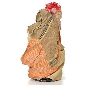 Femme au linge crèche Napolitaine 6 cm s2