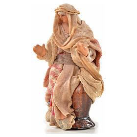 Neapolitan Nativity, Arabian style, woman carrying water 6cm s1
