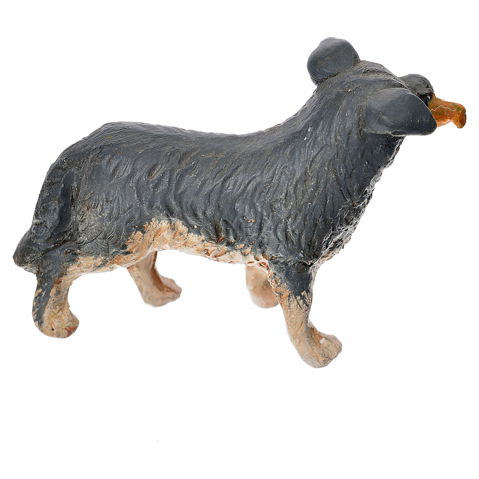 Neapolitan Nativity accessory, dog measuring 14cm 4