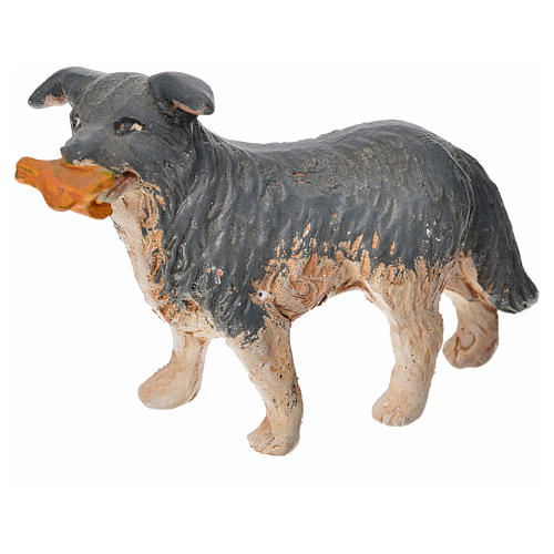 Neapolitan Nativity accessory, dog measuring 14cm 1