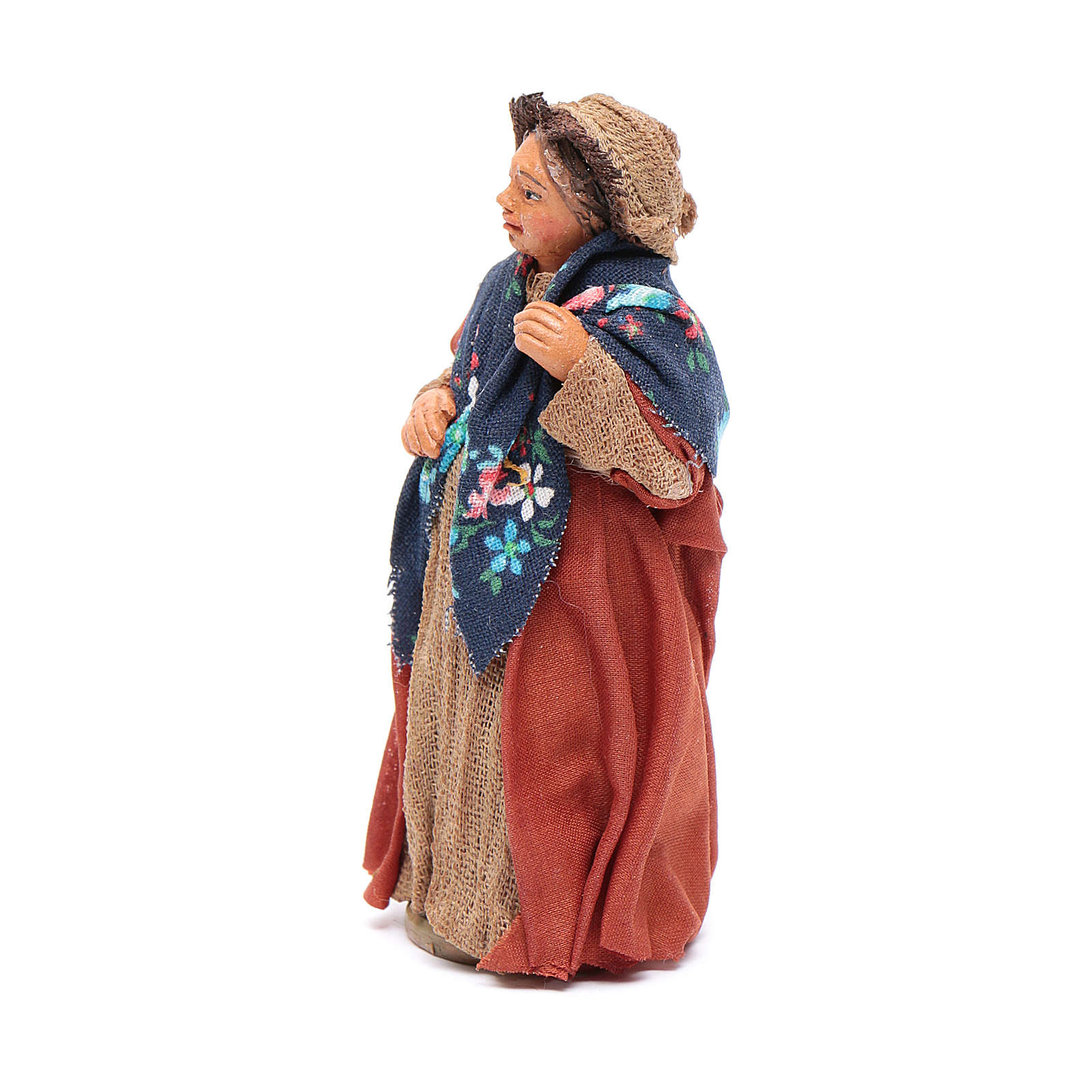 Mujer embarazada 10 cm Belén Napolitano 4