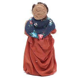 Donna incinta 10 cm presepe napoletano s3