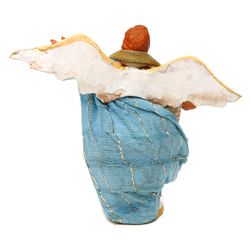 Ángel en pie 10 cm belén napolitano 4