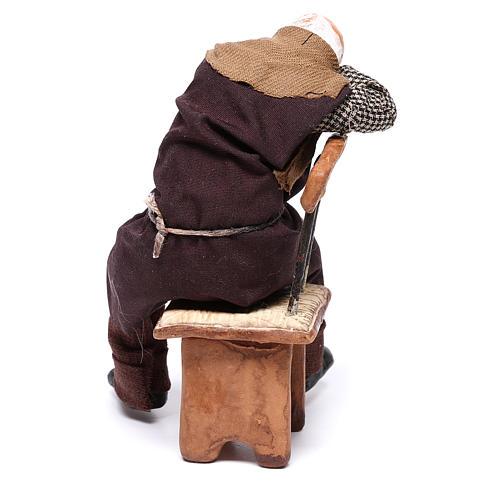 Ivrogne endormi sur une chaise 12 cm crèche Naples 5
