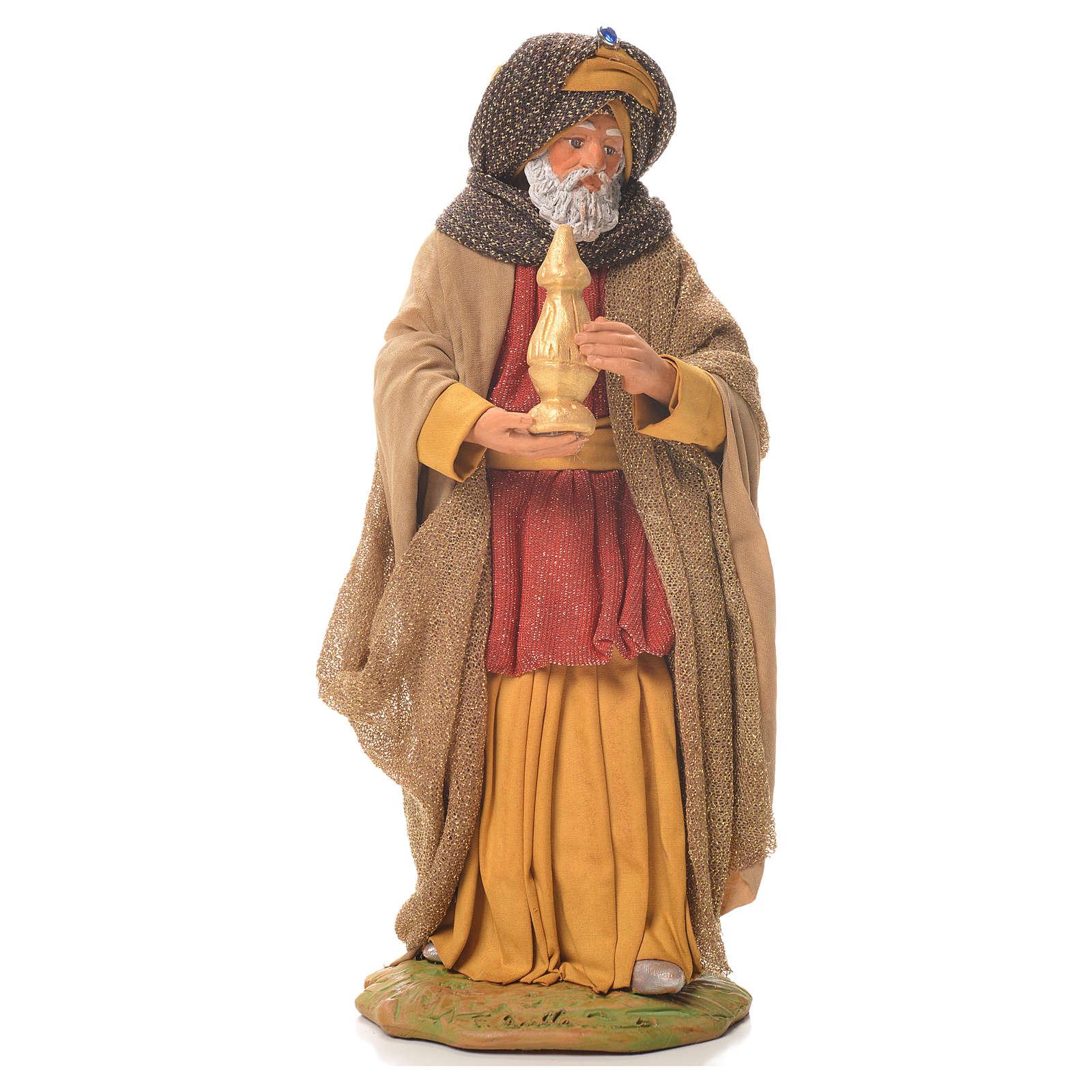 Wise Men, Neapolitan Nativity 24cm 4
