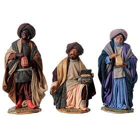 Tres Reyes Magos 24 cm Belén napolitano s1