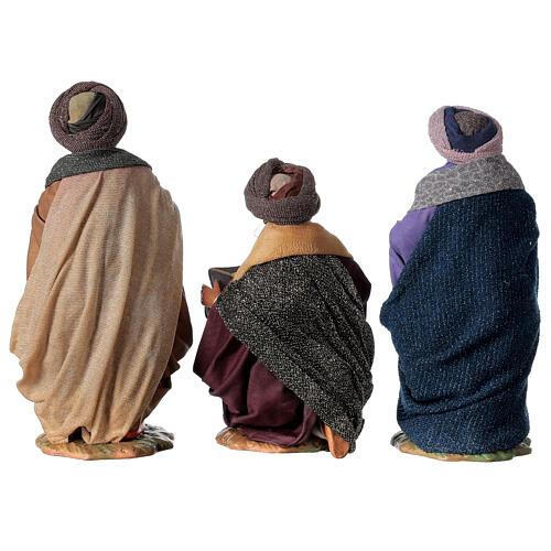 Tres Reyes Magos 24 cm Belén napolitano 14