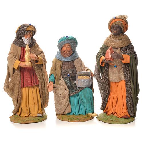 Wise Men, Neapolitan Nativity 24cm 1