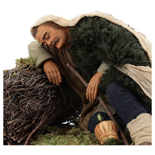 Hombre que duerme 30 cm belén napolitano 2