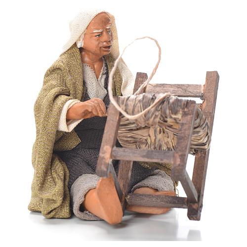 Riparatore sedie seduto 12 cm presepe Napoli 1