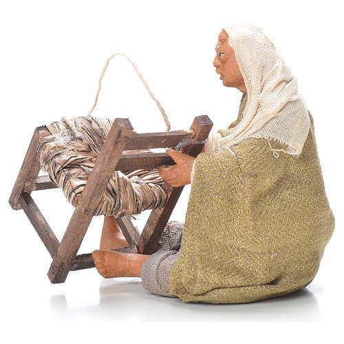 Riparatore sedie seduto 12 cm presepe Napoli 2