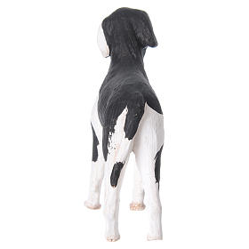 Cane in piedi 24 cm terracotta presepe Napoli s6