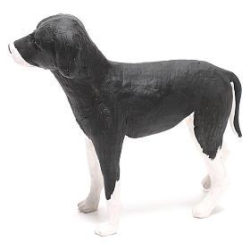 Cane in piedi 24 cm terracotta presepe Napoli s5