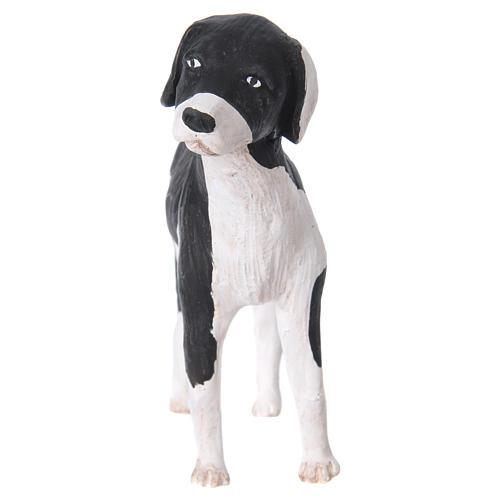 Cane in piedi 24 cm terracotta presepe Napoli 3