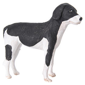 Terracotta dog standing, 24cm Neapolitan Nativity s5