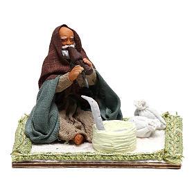 Neapolitan Nativity Scene: Snake Charmer, Neapolitan Nativity 10cm