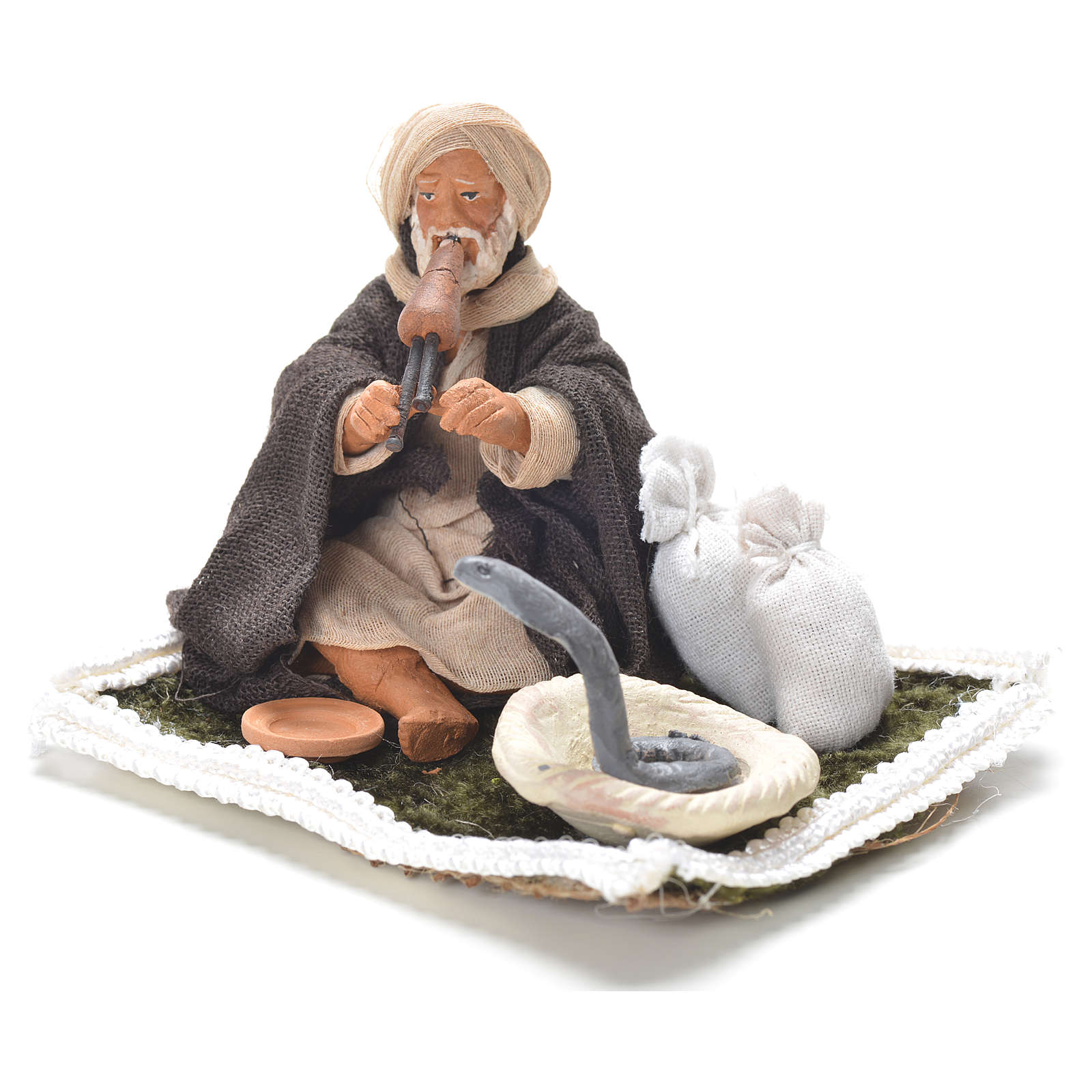 Snake Charmer, Neapolitan Nativity 10cm 4