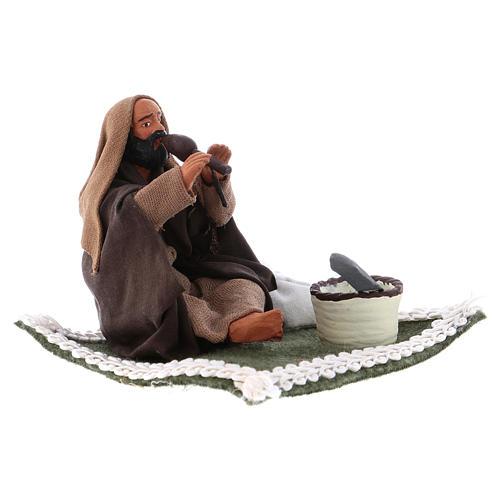 Snake Charmer, Neapolitan Nativity 10cm 3