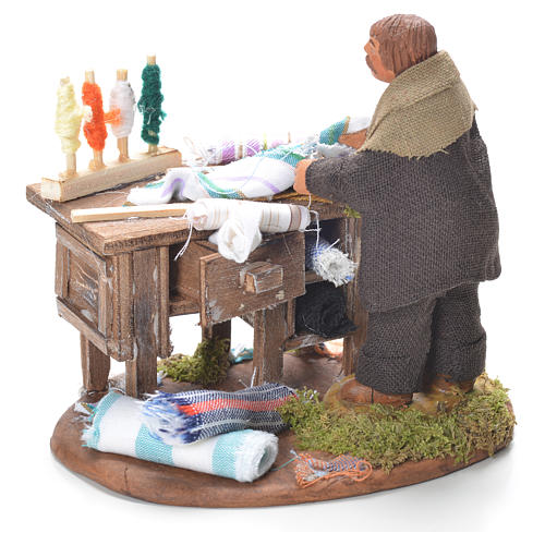 Tailor with stall, Neapolitan Nativity 10cm 3