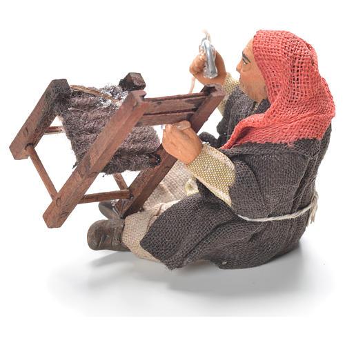 Réparateur chaises assis 10 cm crèche Naples 2