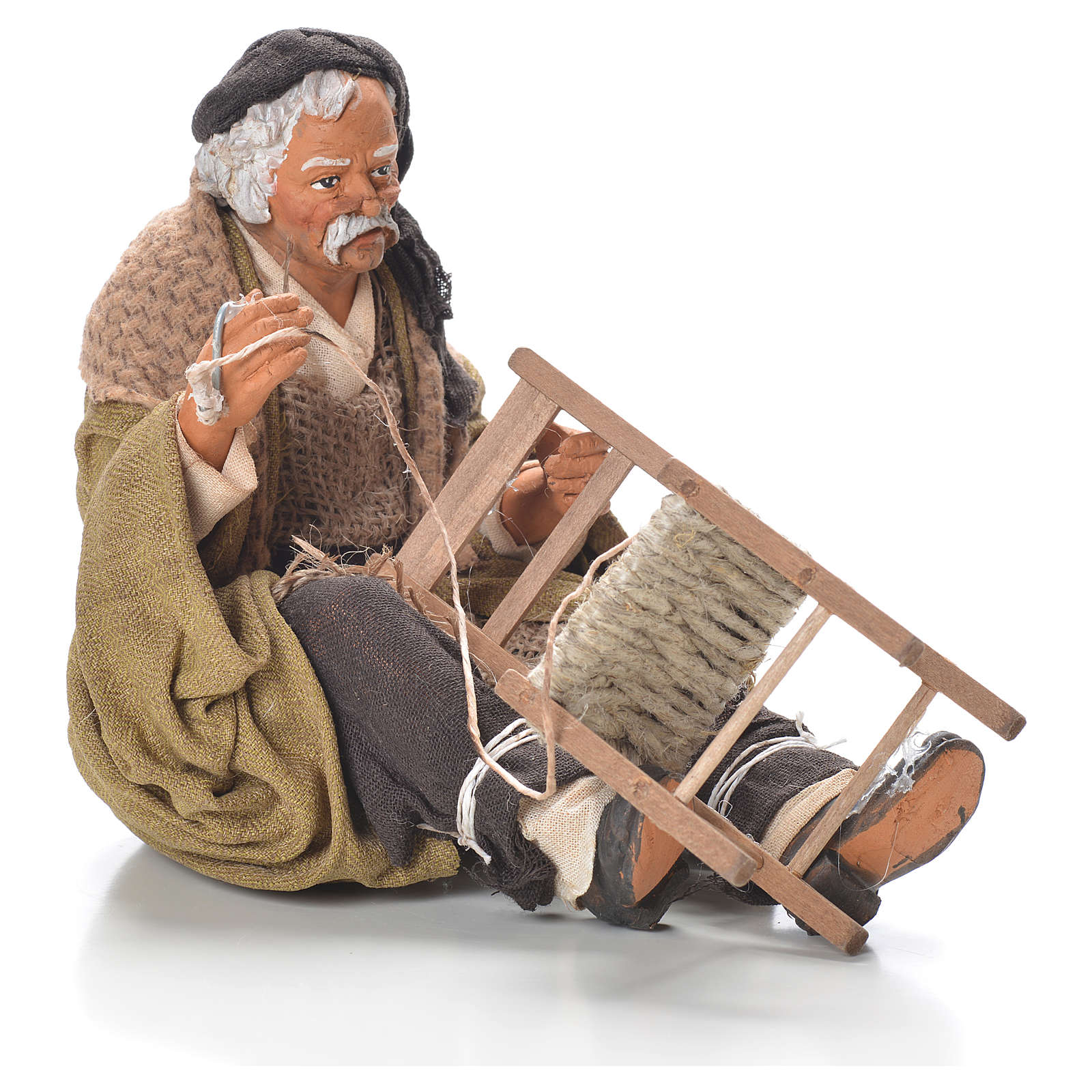 Riparatore di sedia 30 cm presepe Napoli 4