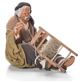 Riparatore di sedia 30 cm presepe Napoli s6