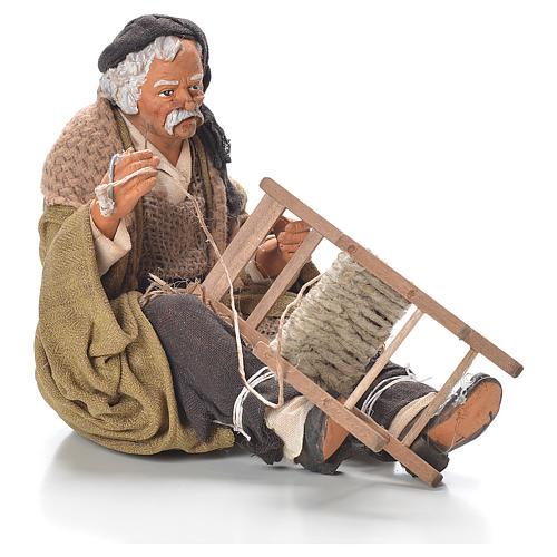 Riparatore di sedia 30 cm presepe Napoli 1
