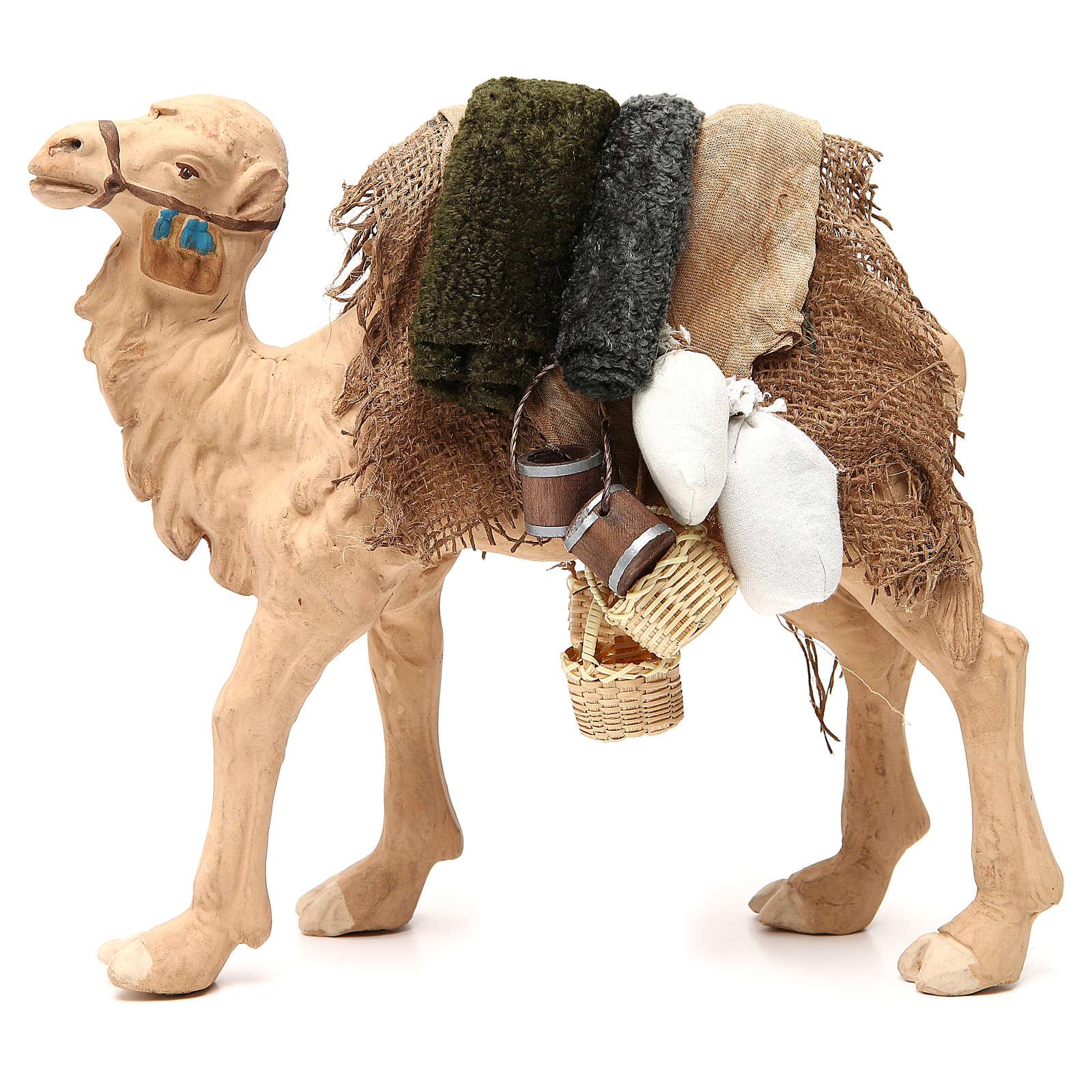 Camel With Harness 24cm Neapolitan Nativity Scene