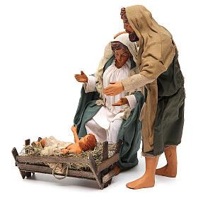 Nativity scene, standing, Neapolitan nativity 24cm s2