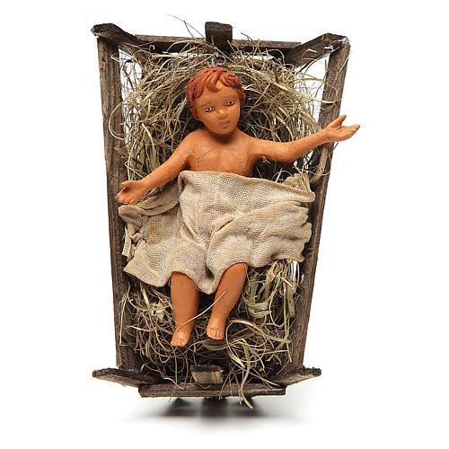 Nativity scene, standing, Neapolitan nativity 24cm 4