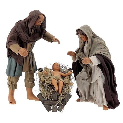 Nativity scene, standing, Neapolitan nativity 24cm 8