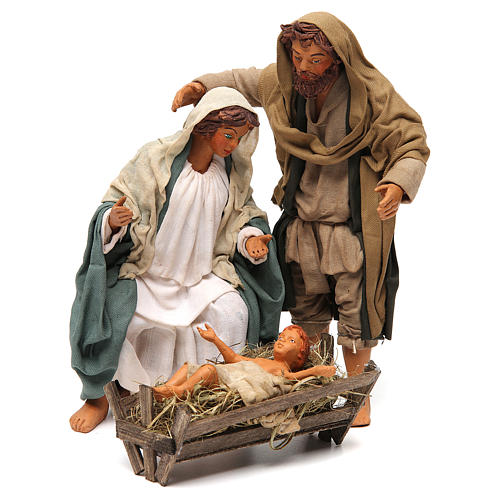 Nativity scene, standing, Neapolitan nativity 24cm 1