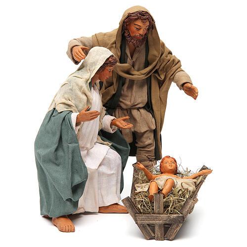 Nativity scene, standing, Neapolitan nativity 24cm 3