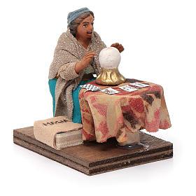 Fortune teller, Neapolitan nativity figurine 10cm s3
