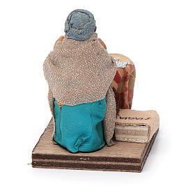 Fortune teller, Neapolitan nativity figurine 10cm s4