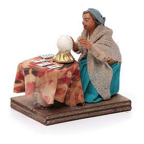 Fortune teller, Neapolitan nativity figurine 10cm s2