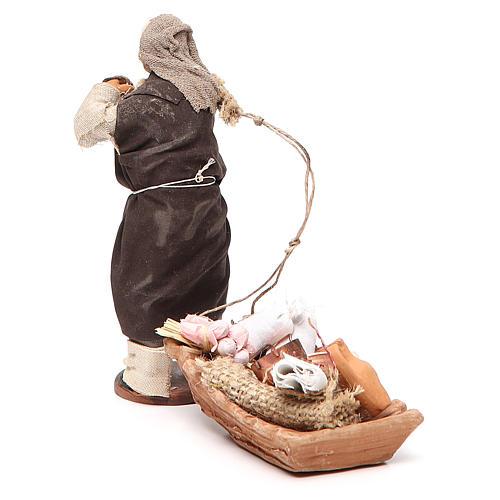 Soap seller, Neapolitan nativity figurine 12cm 3