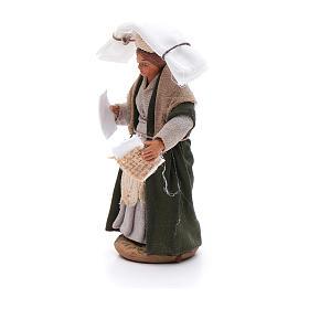 Mujer con pañuelos 10 cm Belén napolitano s2