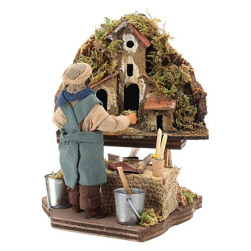 Nativity scene artist, Neapolitan nativity figurine 10cm 5
