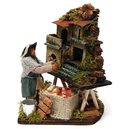 Nativity scene artist, Neapolitan nativity figurine 10cm 1