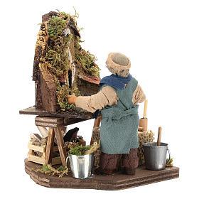 Nativity scene artist, Neapolitan nativity figurine 10cm s7