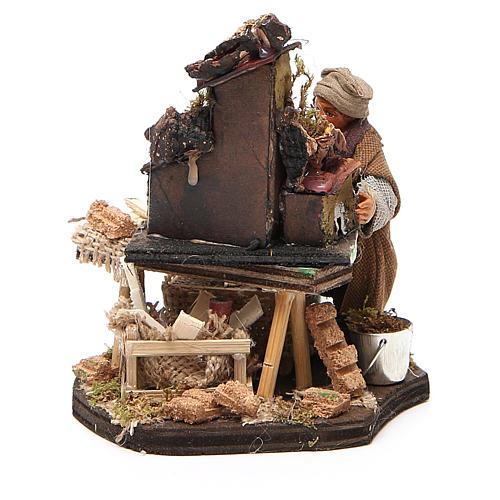 Nativity scene artist, Neapolitan nativity figurine 10cm 3