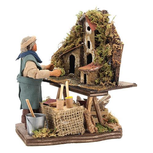 Nativity scene artist, Neapolitan nativity figurine 10cm 6